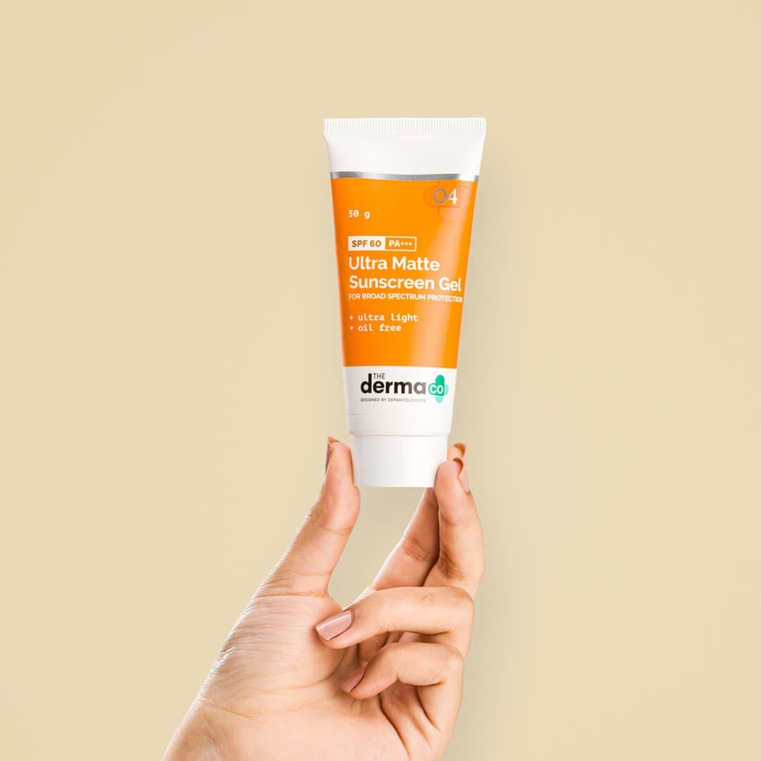 Ultra Matte Sunscreen Gel